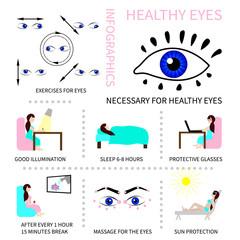 目の充血対策