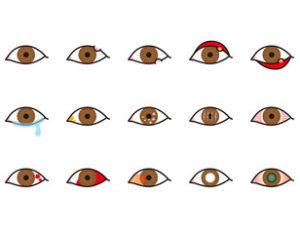 目の充血赤くなる原因
